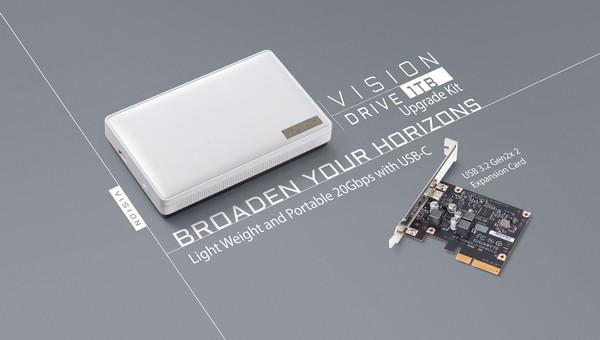 Gigabyte Vision Drive 1TB Upgrade Kit