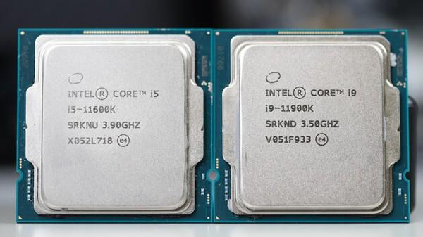 Intel Core i9-11900K und i5-11600K