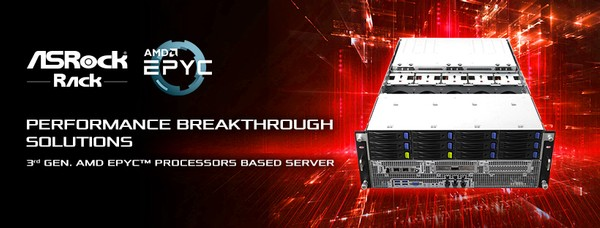 ASRock Rack 3rd Gen AMD Epyc Server Solutions