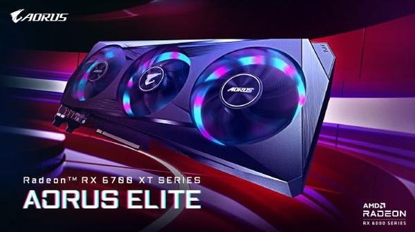 Gigabyte Aorus Radeon RX 6700 XT Elite Grafikkarten