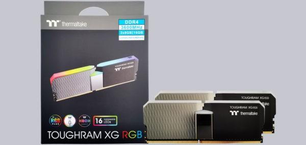 Thermaltake Toughram XG RGB DDR4-3600 16GB RAM