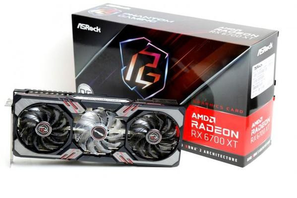 ASRock Radeon RX 6700 XT Phantom Gaming D OC Graphics Card