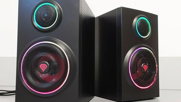 Genesis HELIUM 300BT ARGB Bluetooth Speakers