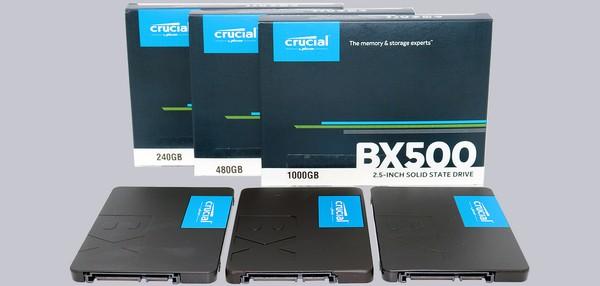 Crucial BX500 240GB 480GB 1TB SSD