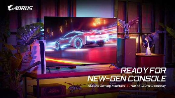 Gigabyte Aorus 4K Gaming Monitor