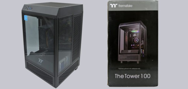 Thermaltake The Tower 100 ITX Gehäuse