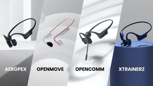AfterShokz Openmove Aeropex Xtrainerz und Opencomm