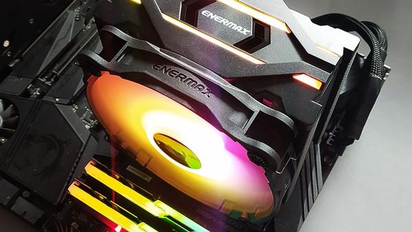 Enermax ETS-F40-FS Silent ARGB CPU Cooler