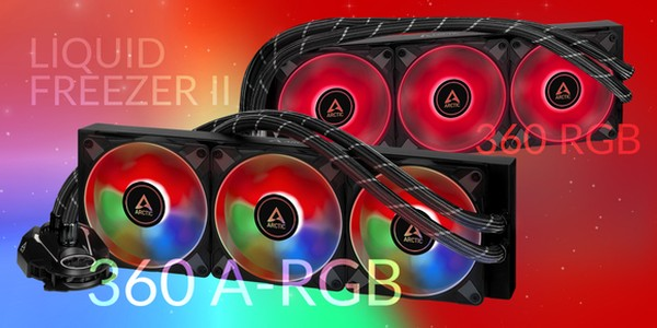 Arctic Liquid Freezer ll A-RGB und RGB weitere Modelle