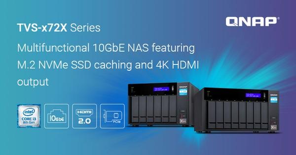 QNAP TVS-x72X 10GbE NAS