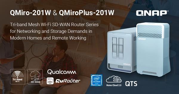QNAP QMiro-201W und QNAP QMiroPlus-201W Router