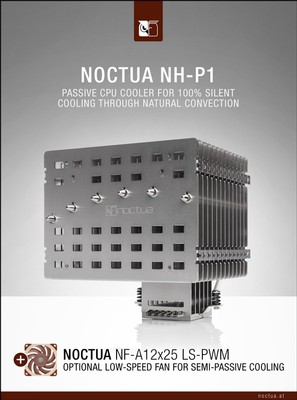 Noctua NH-P1 und Noctua NF-A12x25 LS-PWM