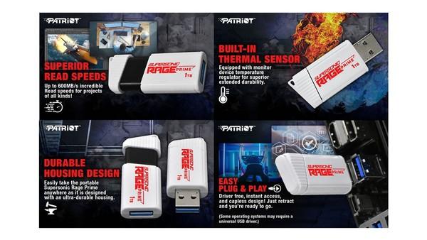 Patriot Supersonic Rage Prime USB-Stick