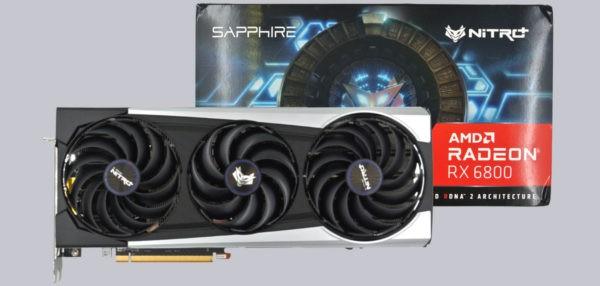 Sapphire Nitro Radeon RX 6800 16GB