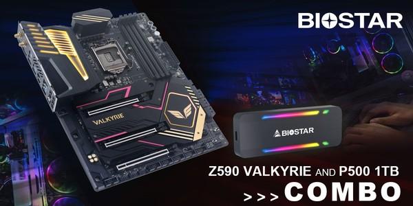Biostar Z590 Valkyrie Motherboard
