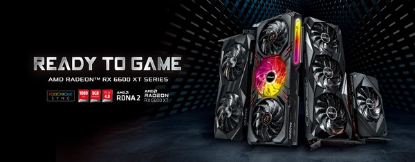 ASRock AMD Radeon RX 6600 XT Graphics Cards