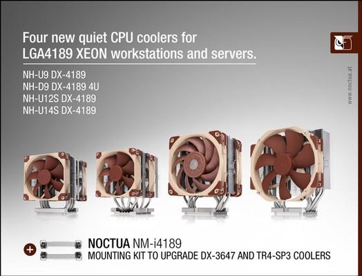 Noctua DX-4189 Intel LGA4189 Kühler