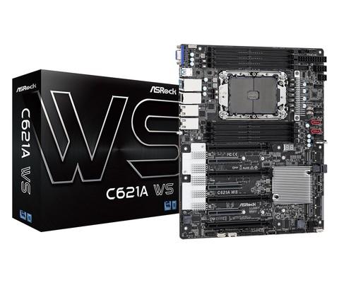 ASRock C621A WS Server und Workstation Mainboard