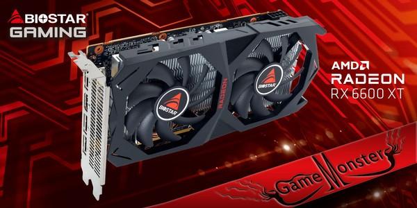 Biostar Radeon RX 6600 XT Graphics Card
