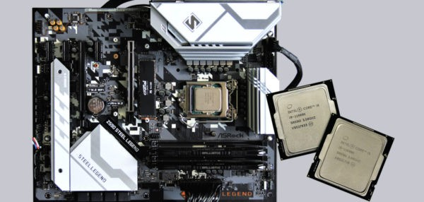 Intel Core i5-11600K and Core i9-11900K