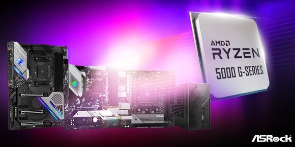 ASRock AMD Ryzen 5000G BIOS Update