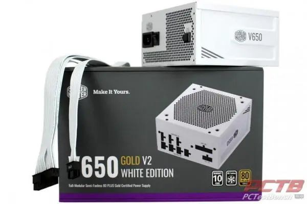 Cooler Master V650 Gold-V2 White PSU