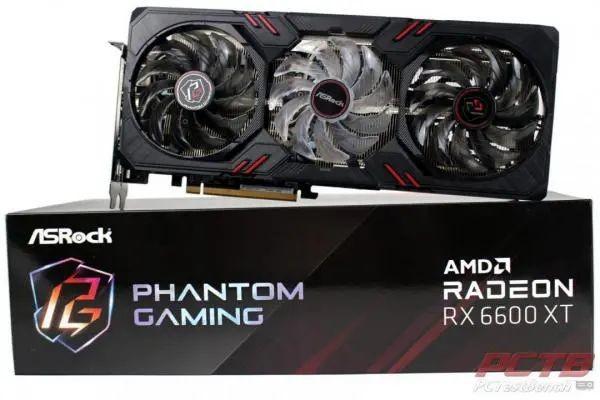 ASRock RX 6600 XT Phantom Gaming D 8GB OC