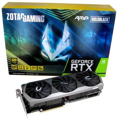 Zotac GeForce RTX 3080 AMP Holo Grafikkarten