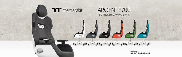 Thermaltake Argent E700 Porsche Design Gaming Stuhl
