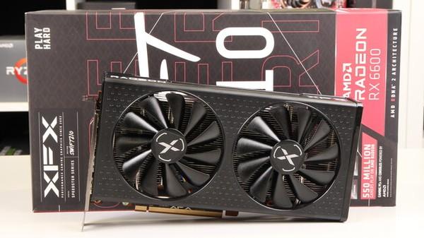 XFX Radeon RX 6600 Speedster Swft 210 Grafikkarten